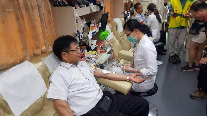 台電彰化區處捐血活動