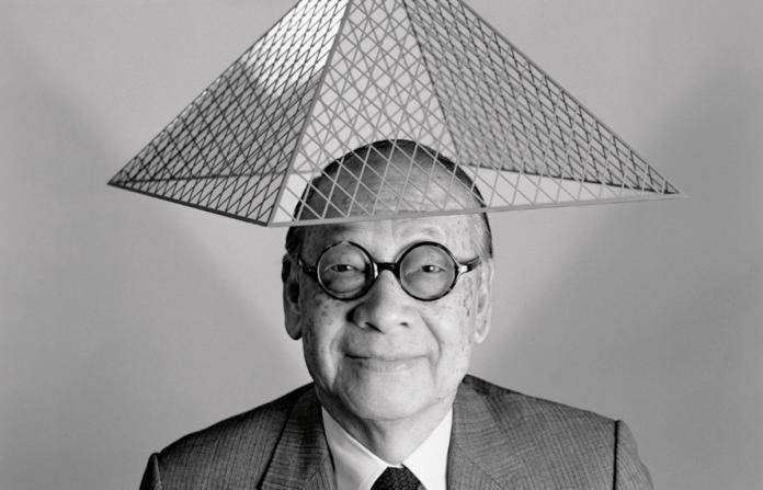 <b>羅浮宮</b>金字塔他蓋的!建築大師貝聿銘過世享嵩壽102歲