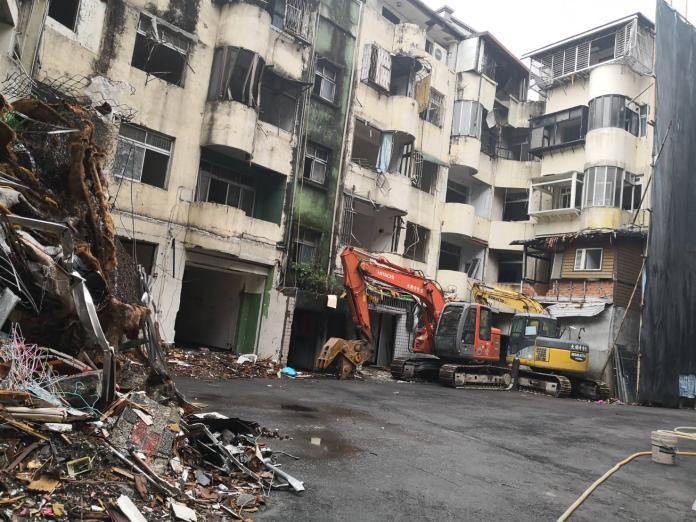 加速危老建築都更 中和12棟老屋拆了