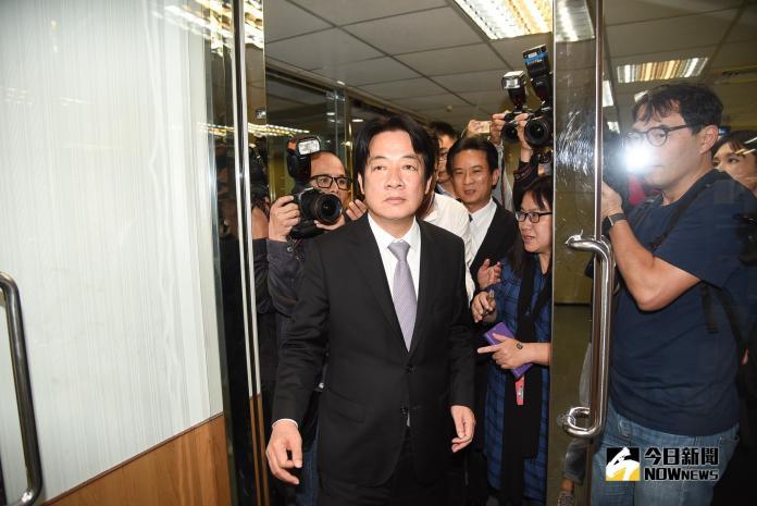 前行政院長賴清德。(圖/記者陳明安攝,2019.05.23)