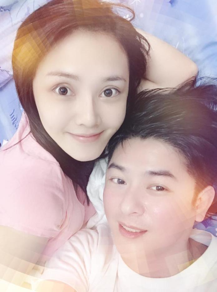 <br> ▲陳子玄與老公陳建隆感情甜蜜。(圖/臉書)