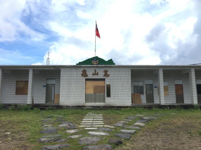 ▲林正洪表示,大屯火山和龜山島都是活火山。(圖/記者王柏文攝)