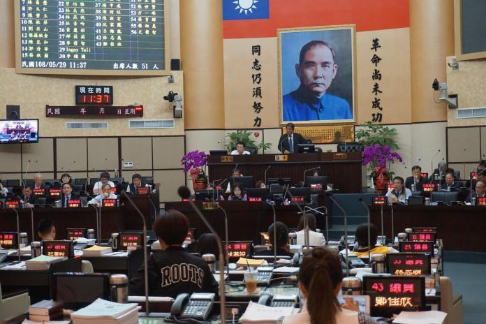 台南市議會今起休會 延至5月28日後再開議