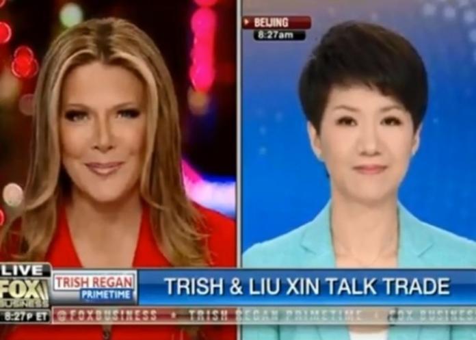 中美女主播激辯貿易戰 雷根:拿走別人的東西是不對的事
