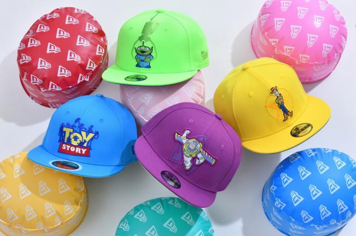 ▲還有鮮豔色彩的親子帽款,一家人可以互相搭配。(圖/NEW ERA提供)