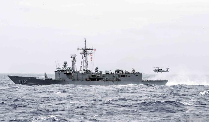 向共軍秀肌肉!國防部:西南海空域將實施不實彈操演