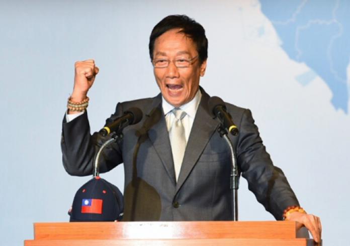 ▲鴻海集團董事長郭台銘列「無感」第一名。(圖/NOWnews資料照)