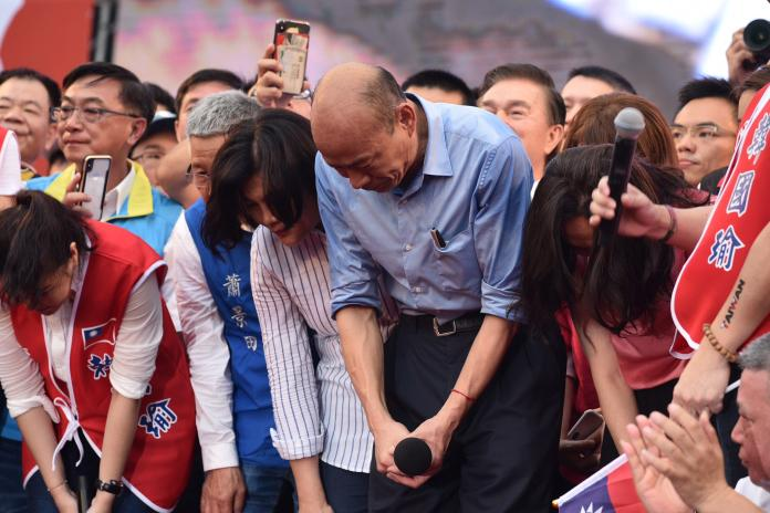 0601韓國瑜造勢現場。(圖/NOWnews攝影中心,2019.06.01)