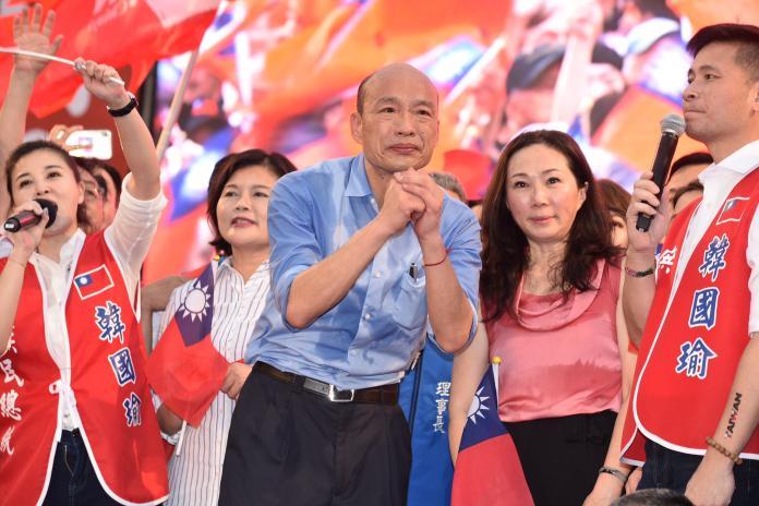 ▲高雄市市長韓國瑜。(圖 / NOWnews 攝影中心)