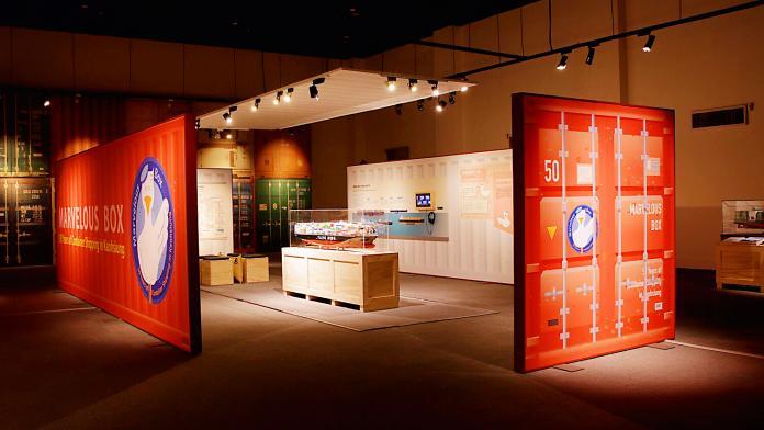 通往世界之路的奇蹟箱子 高雄貨櫃海運50年特展