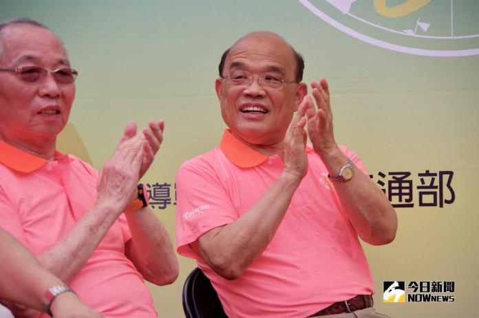 韓國瑜推發財外交 蘇貞昌反憂登革熱:蚊子不分藍綠