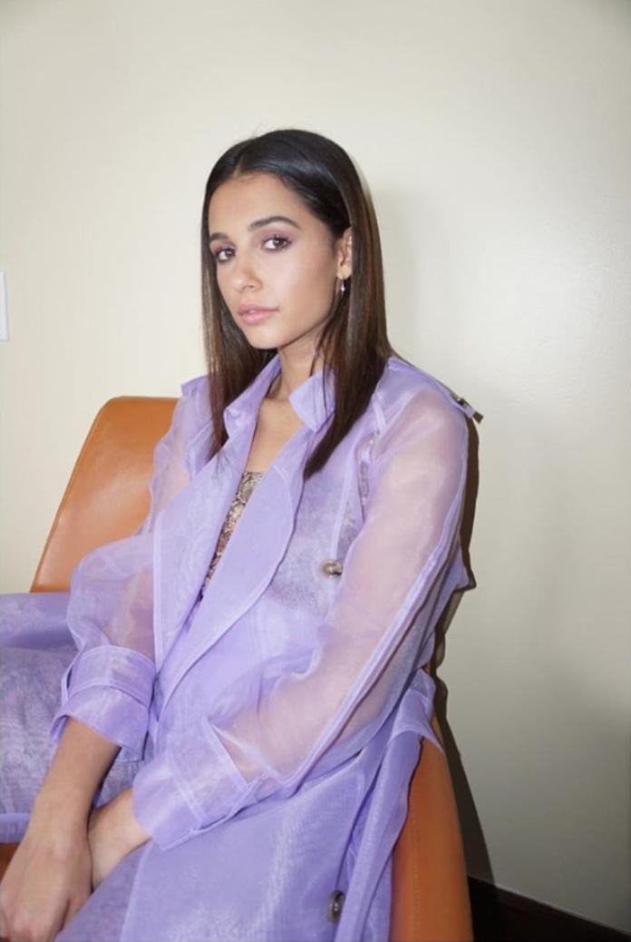 ▲連不好詮釋的淺紫色透視裝,娜歐蜜史考特都能輕鬆駕馭。(圖/翻攝自IG@naomigscott)
