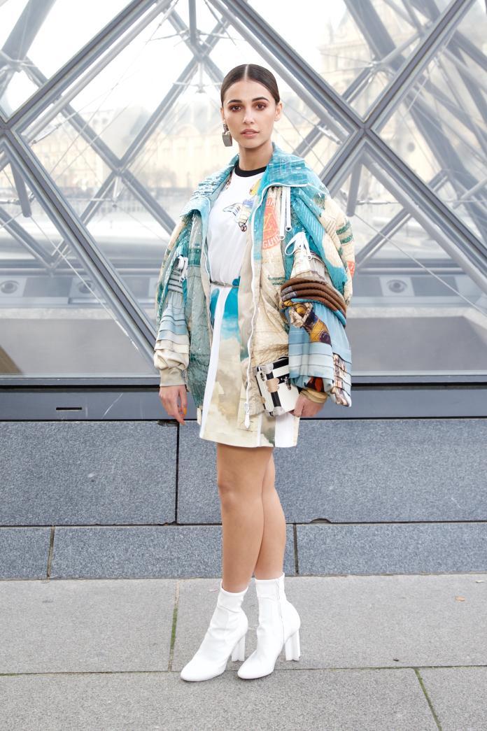 ▲娜歐蜜史考特出席路易威登 2019 秋冬女裝秀。(圖/LOUIS VUITTON提供)