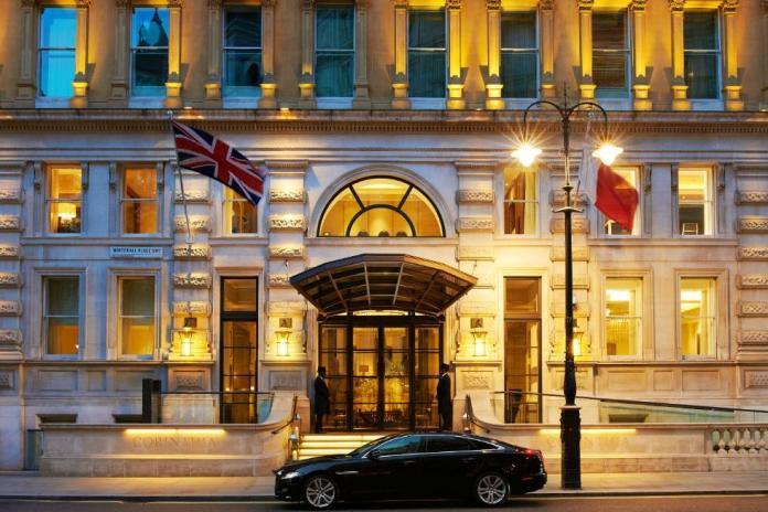 ▲科林西亞酒店(Corinthia Hotel London)外觀。(圖/翻攝飯店官網)