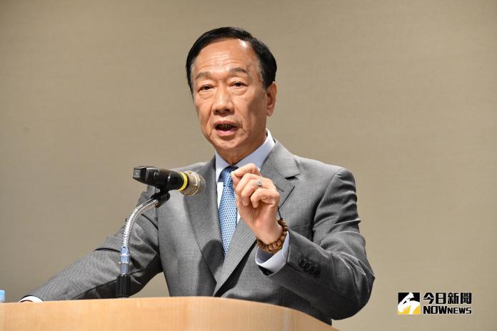 ▲國民黨總統參選人郭台銘。(圖/Nownews資料照片)