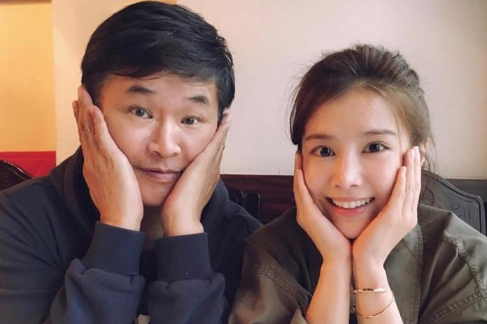 ▲賀一航(左)、李佳穎曾在電視劇中演父女。(圖/IG)