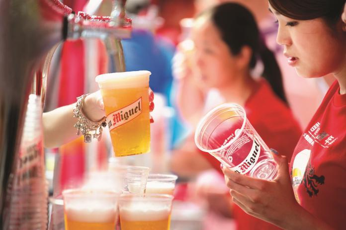 現場換領免費啤酒