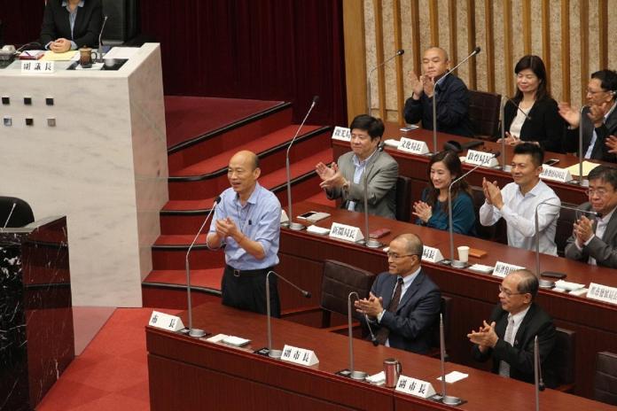 高市議會定期大會閉幕 韓國瑜強調高市議員水準非常高