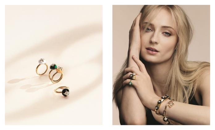 ▲蘇菲特納拍攝全新珠寶系列 B Blossom 形象廣告。(圖/LOUIS VUITTON提供)