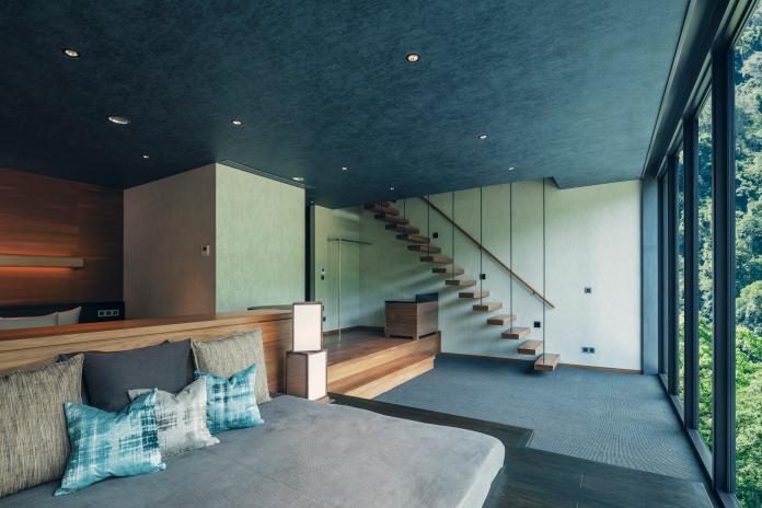 「水明」房型的客廳