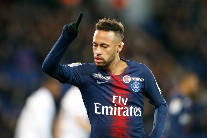 ▲巴西球星內馬爾(Neymar Jr.)效力法甲豪門巴黎聖日耳曼。(圖/美聯社/達志影像)