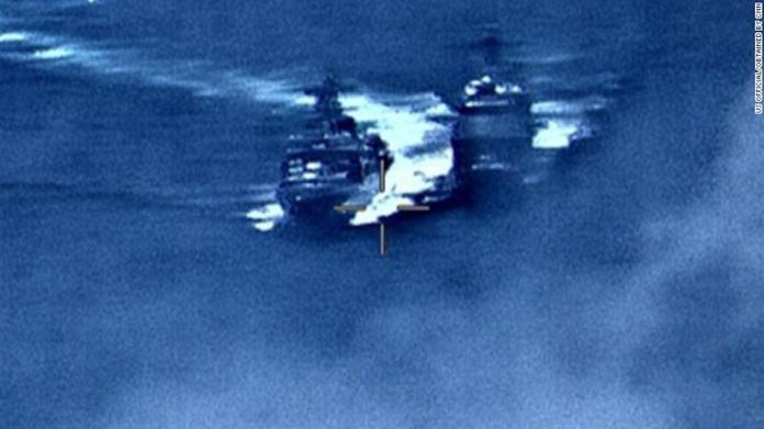 美俄軍艦太平洋上險相撞 專家:普丁給習近平發送訊息