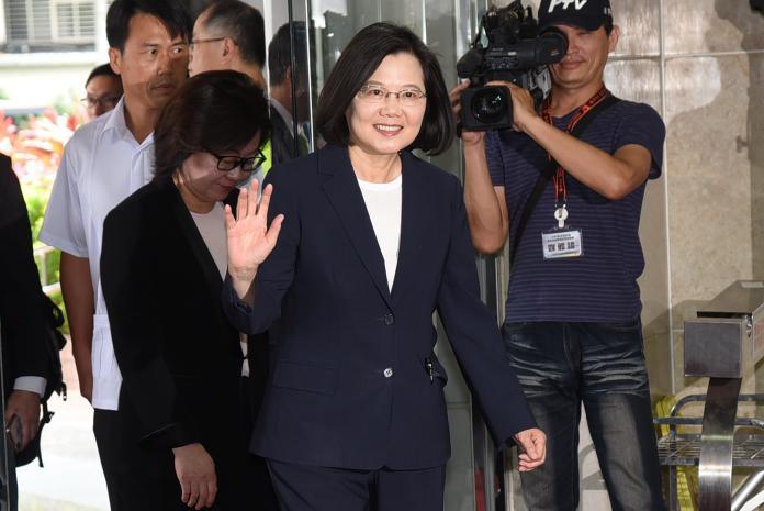 初選後整合黨內 蔡邀各派系立委便當會,下午她也將赴中執會,接受民進黨提名。 (圖/Nownews資料照)
