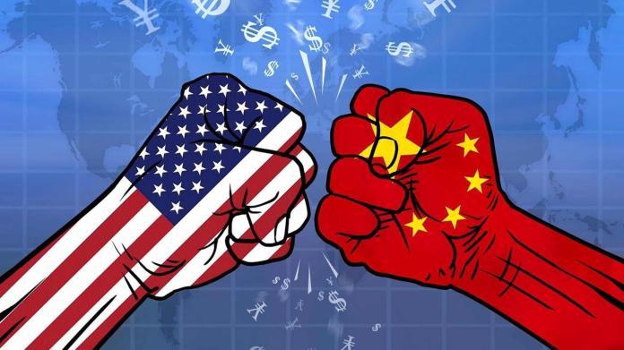 ▲隨著中美貿易戰升溫,中國大陸內部出現對美妥協投降的聲音。(圖/翻攝網路)