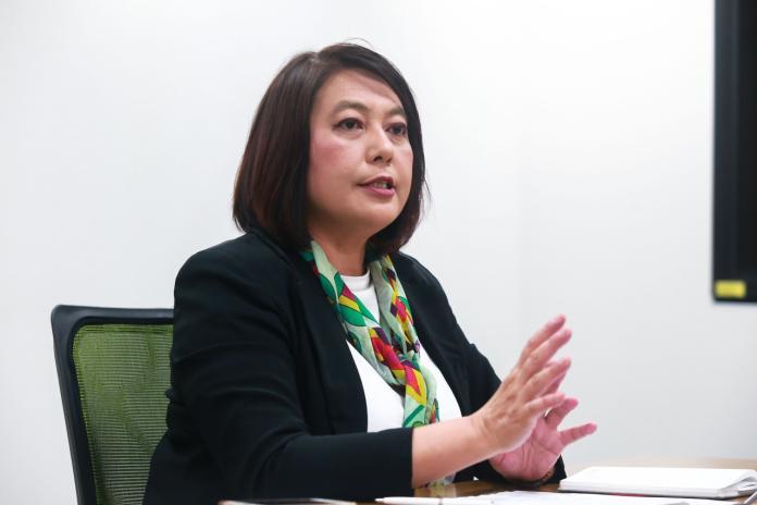 ▲NCC前主委詹婷怡接受《NOWnews今日新聞》專訪時,首度露她當初請辭的原因。(圖/記者葉政勳攝影)