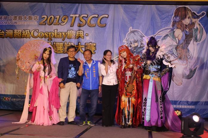 ▲2019年第8屆台灣超級COSPLAY慶典在劍湖山進行慶典大賽。(圖/記者簡勇鵬攝,2019.06.09)