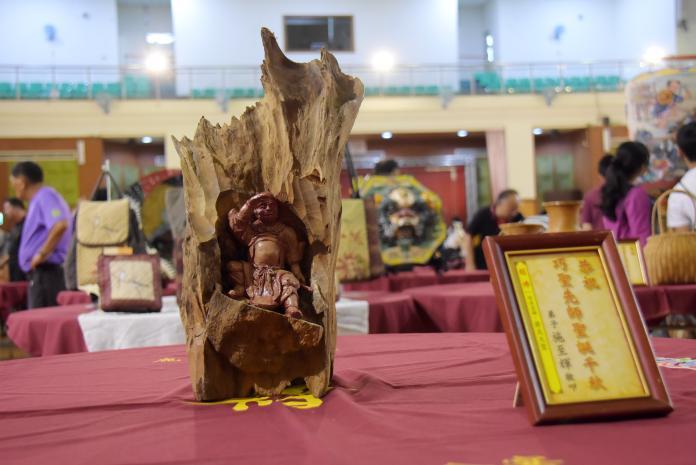 <br> ▲鹿港魯班公宴現今已成為了台灣地區唯一以工藝作品為看桌祭祀祖師的文化資產活動。(圖/記者陳雅芳攝,2019.06.09)
