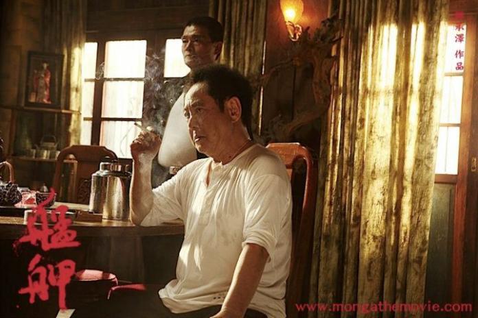 <br> ▲馬如龍在《艋舺》飾演黑道老大。(圖/臉書)