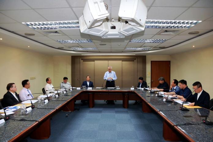 國民黨11日在黨中央舉行總統初選候選人座談會。(圖 / 國民黨中央提供)