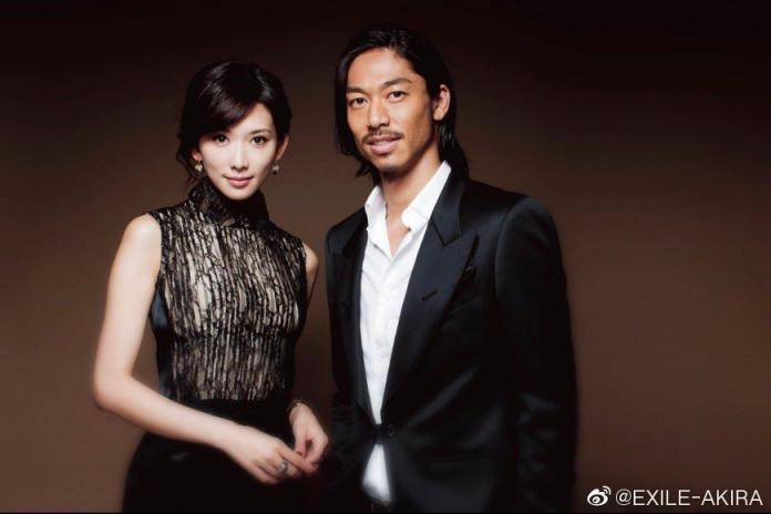▲林志玲嫁給 AKIRA。(圖/翻攝微博)