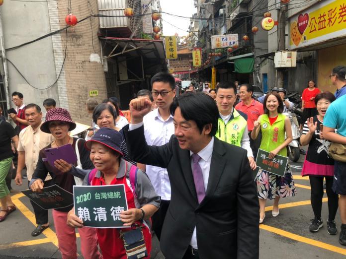 傳出賴清德將在下午1點30分,於台南首廟天壇回應初選結果。 (圖/NowNews資料照)