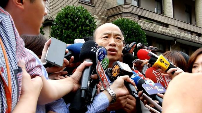 高雄市長韓國瑜。( 圖 / 記者陳弘志攝)