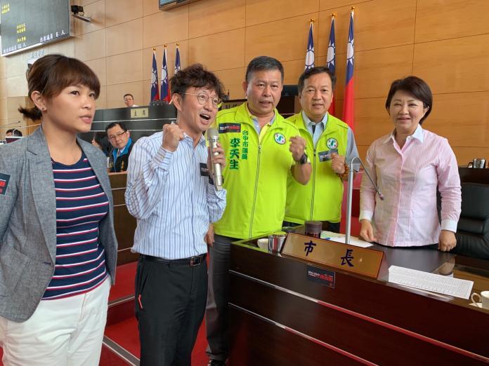 反送中 盧秀燕為香港加油表達立場