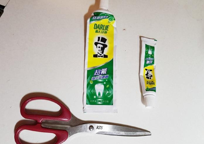 ▲過期牙膏不要丟,可以用來清除各種居家髒污。(圖/總管家家事清潔提供)