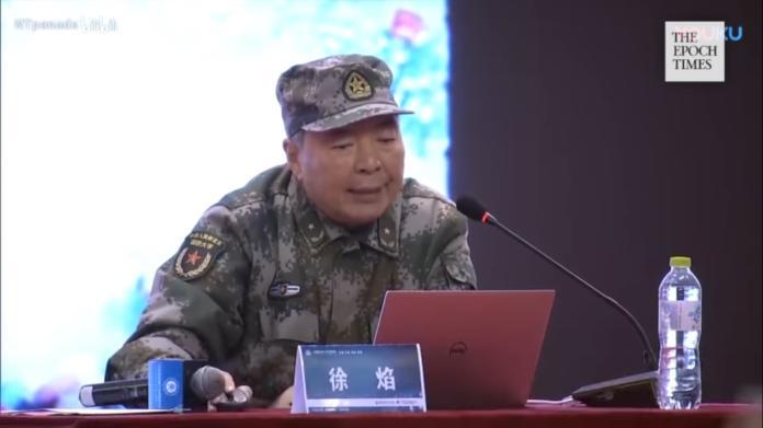 ▲中共國防教授、少將徐焰。(圖/翻攝自影片)
