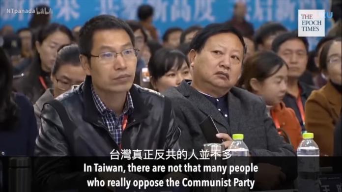 ▲徐焰表示,台灣真正反共的人並不多。(圖/翻攝自影片)