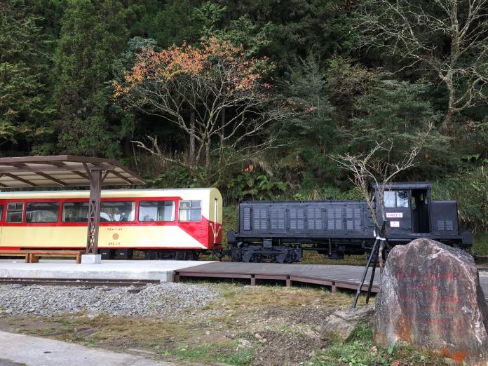 阿里山森林鐵路因豪大雨停駛 公路已搶修通車