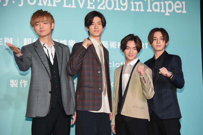 ▲Hey! Say! JUMP來台宣布10月將在小巨蛋舉辦演唱會。(圖/記者陳明安攝, 2019.06.14)