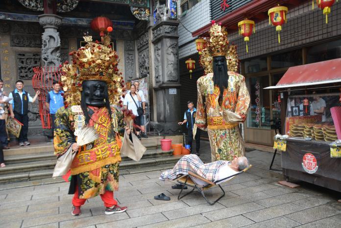 日治政府毀廟燒神祇 城隍令范謝將軍嚇阻日本市長