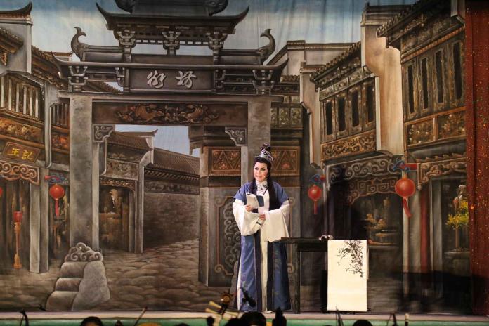 藝術下鄉 唐美雲歌仔戲團今晚在水林鄉演出《花田錯》