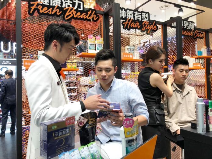 台灣藥妝店首次針對男性封館 康是美再推全新5人團體