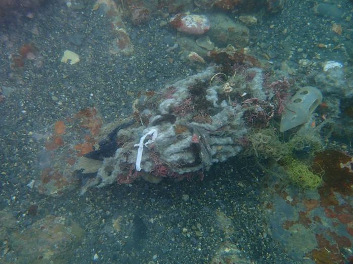 海底垃圾以廢棄漁網為最大宗