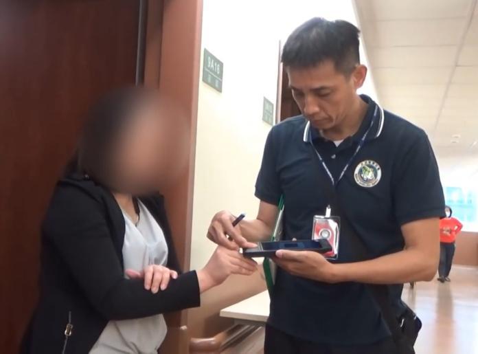 變造指紋成功闖關入境的越南籍黎姓女子在醫院遭查緝