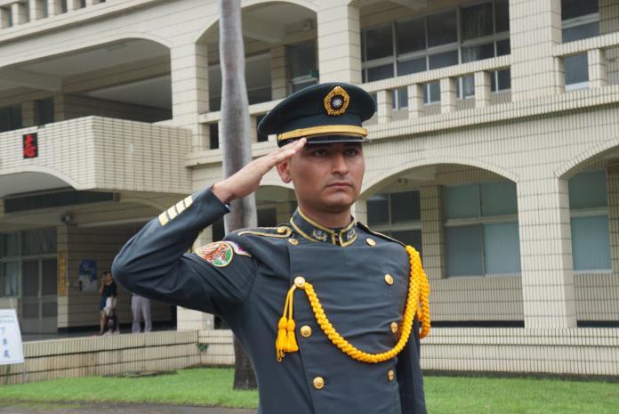 ▲來自尼加拉瓜的安第諾,是本屆陸官88期畢業國際學生。(圖/記者呂炯昌攝, 2019.6.16)