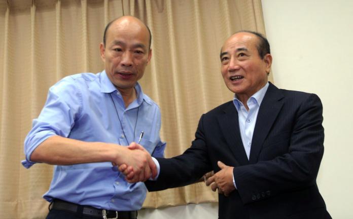 作者認為,韓國瑜身旁的勢力,可視為地方派系的集結,但在本質上,王金平依然是地方派系的「共主」和精神領袖。 (圖/NOWnews資料照)