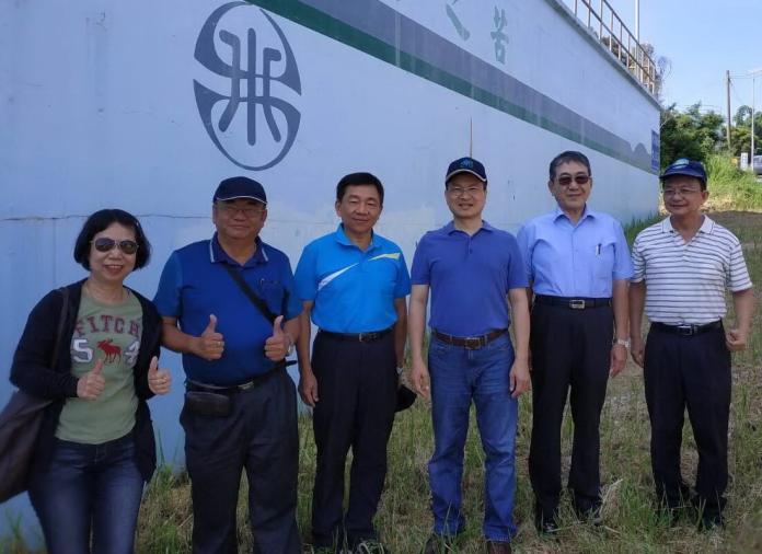 屏東琉球地區供水告急 台灣自來水公司董事長<b>魏明谷</b>視察